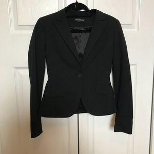 Black classic express blazer size 0
